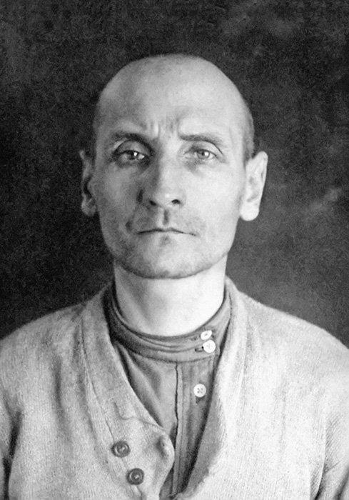 Священник Сергий Лебедев. Москва Таганская тюрьма. 1938 год