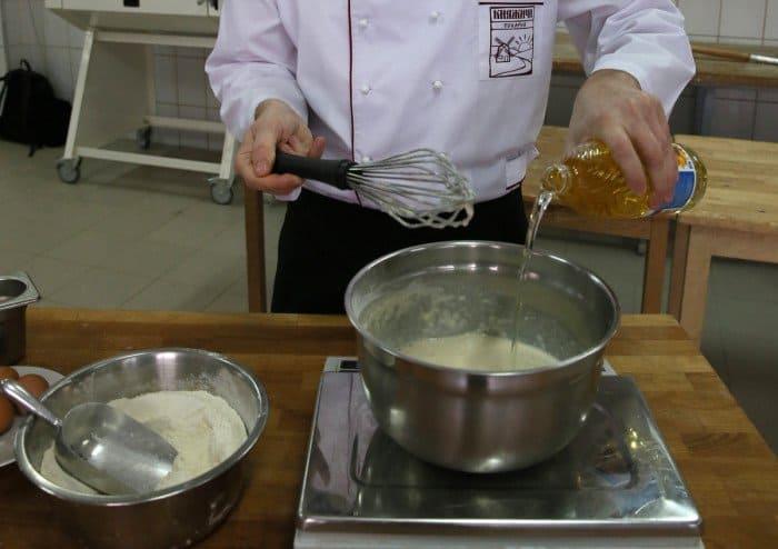 Пошаговый рецепт блинов с фото. Шаг 6