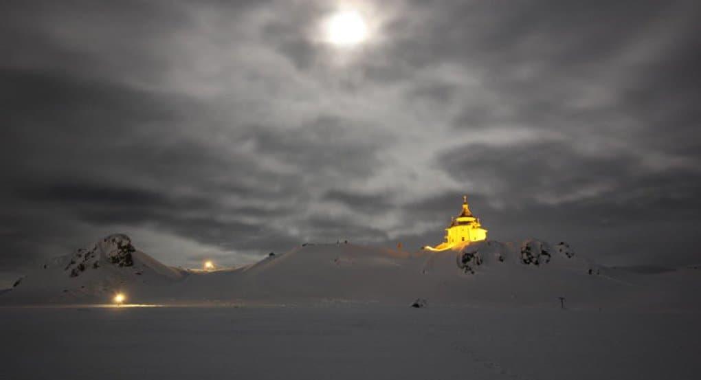 Патриарх Кирилл прилетел на остров Ватерлоо в Антарктиде