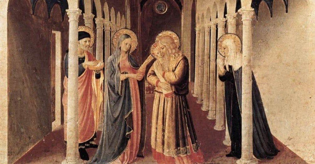 Фра Анжелико. Принесение во храм. 1432.