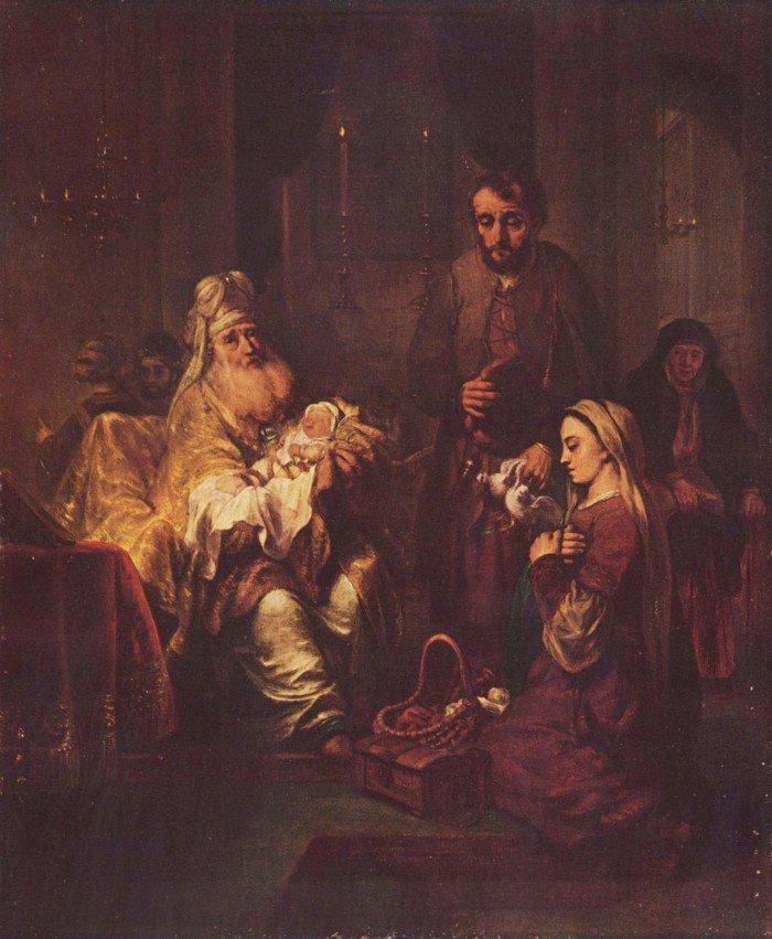 Гербранд ван ден Экхоут. Принесение во храм