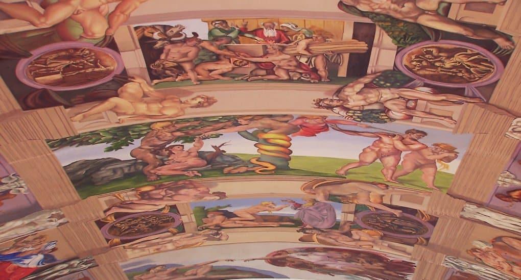 Мексиканский художник первым повторил все фрески Сикстинской капеллы