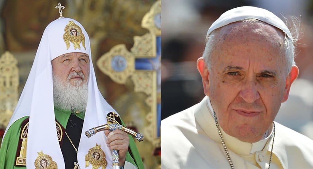 Совместная декларация Патриарха Кирилла и Папы Франциска будет подписана после полуночи