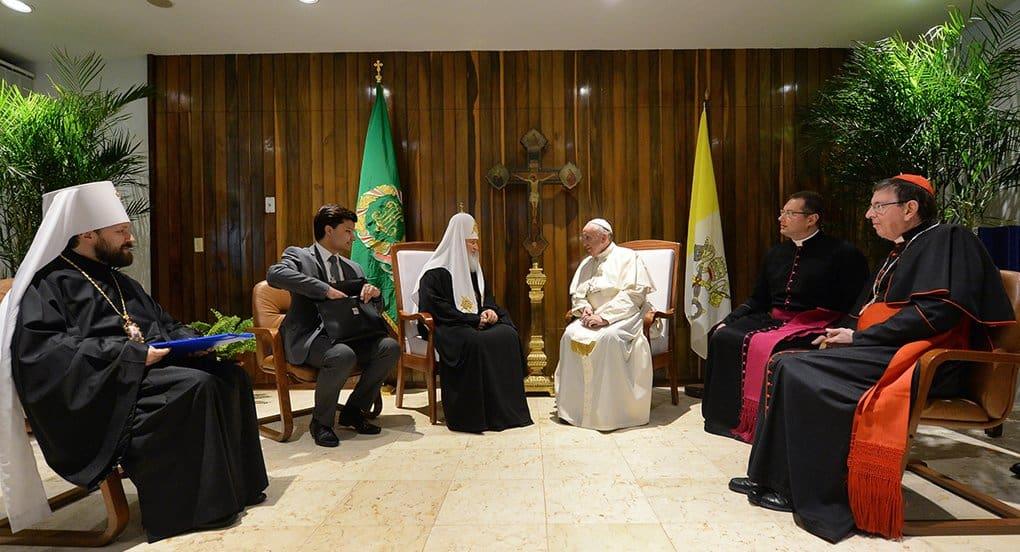 Патриарх считает, что его совместный с Папой Римским призыв защитить христиан «был услышан»