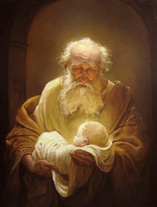 Шишкин Андрей Алексеевич. Симеон и Иисус