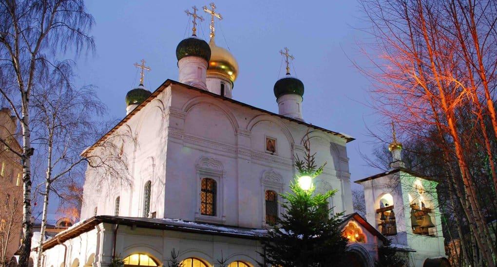 Пожарные потушили возгорание в Сретенском монастыре