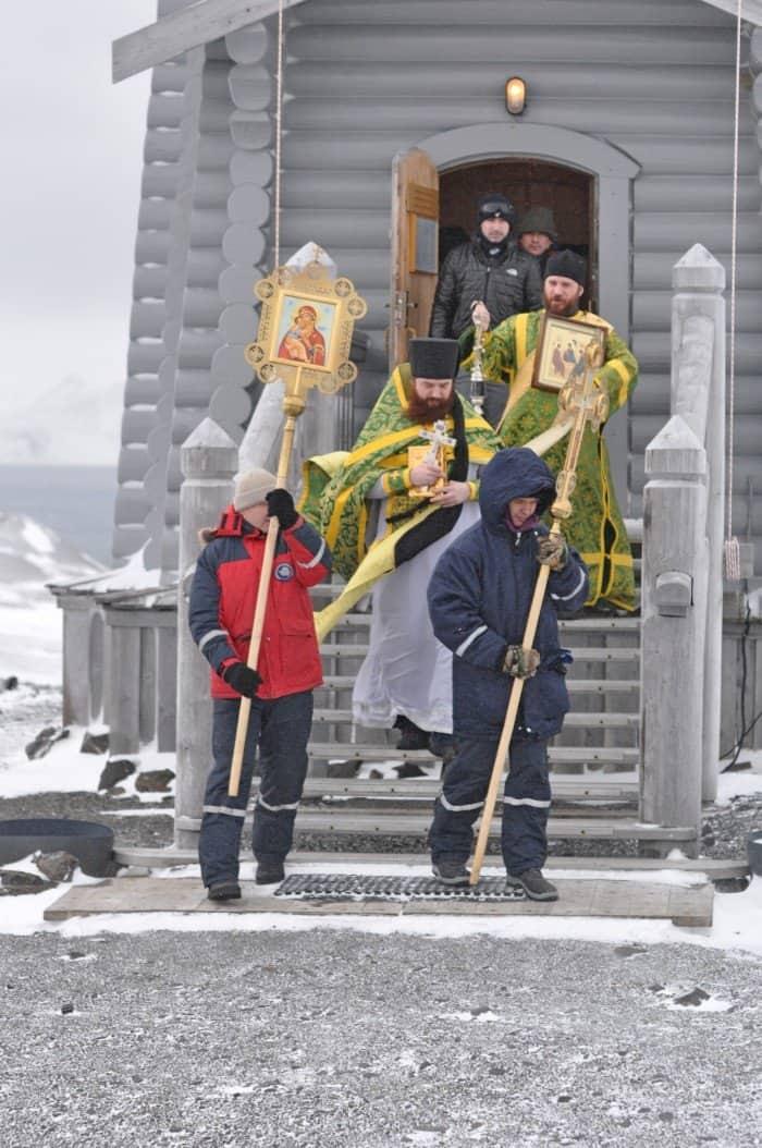 Троица - наш престольный праздник. Начало зимы.