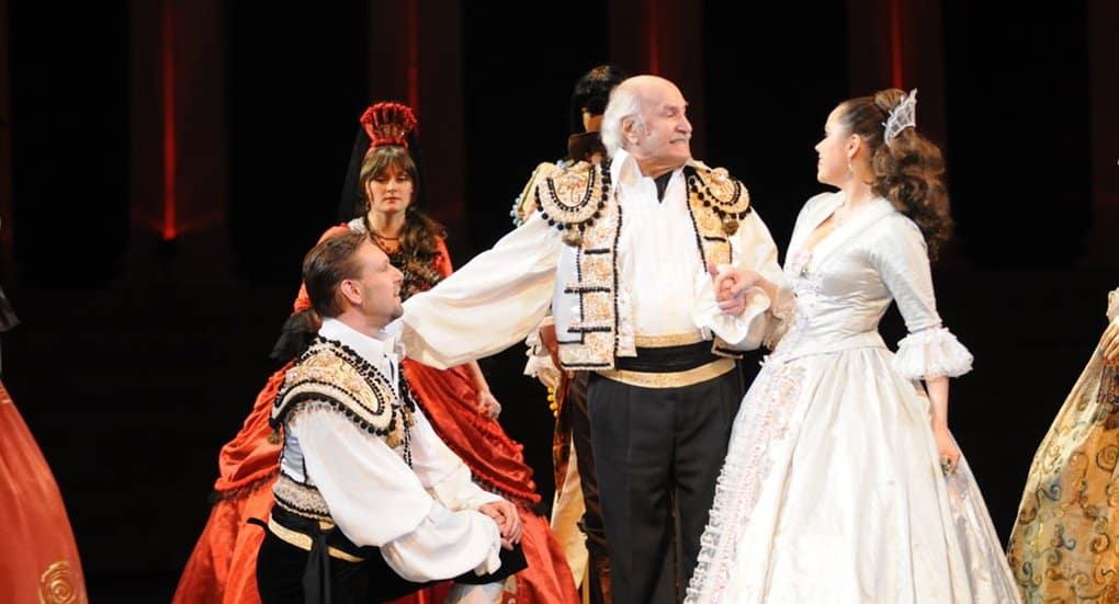 На свое 101-летие Владимир Зельдин намерен вновь выйти на сцену