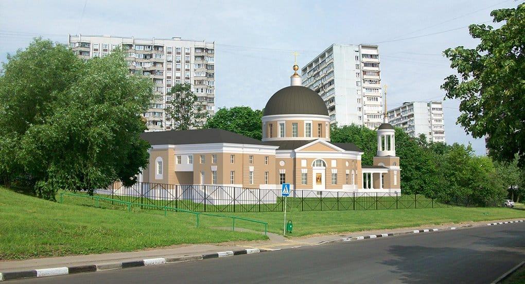 Уникальный храм в Чертанове достроят летом 2016 года