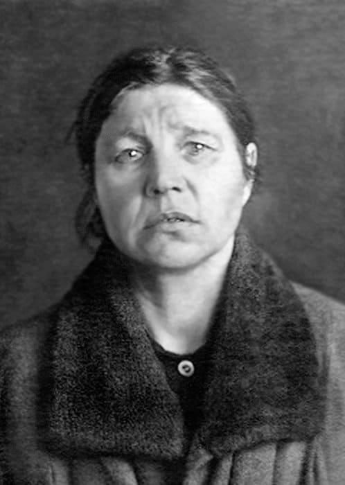 Ирина Алексеевна Смирнова. Таганская тюрьма, Москва. 1938