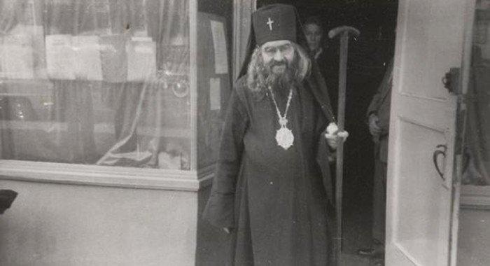 Опубликовано редкое видео служения святителя Иоанна Шанхайского