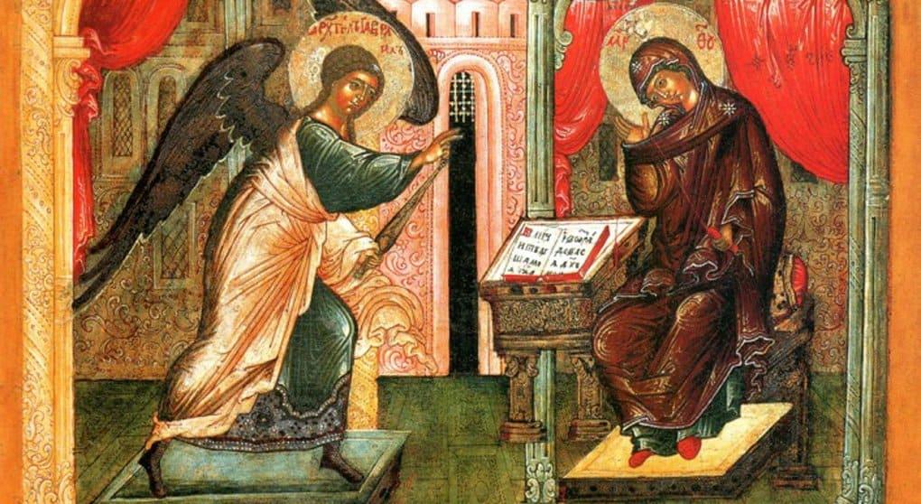 Православные празднуют Благовещение Пресвятой Богородицы