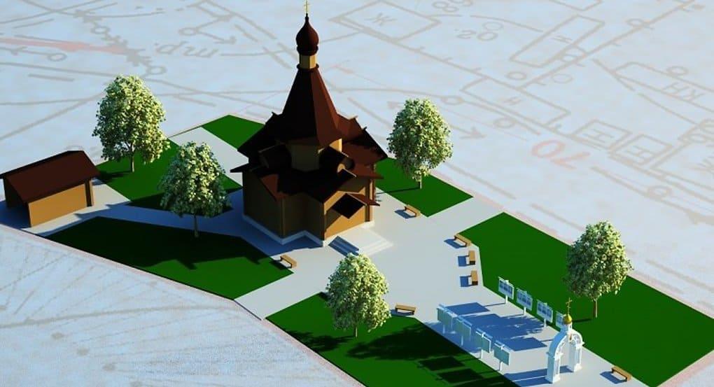 Первый в России храм-памятник с мемориалом чернобыльцам заложили на Белгородчине