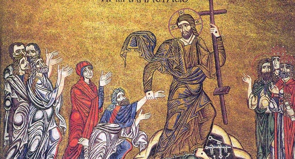 В Великую Субботу Церковь вспоминает сошествие Христа в ад