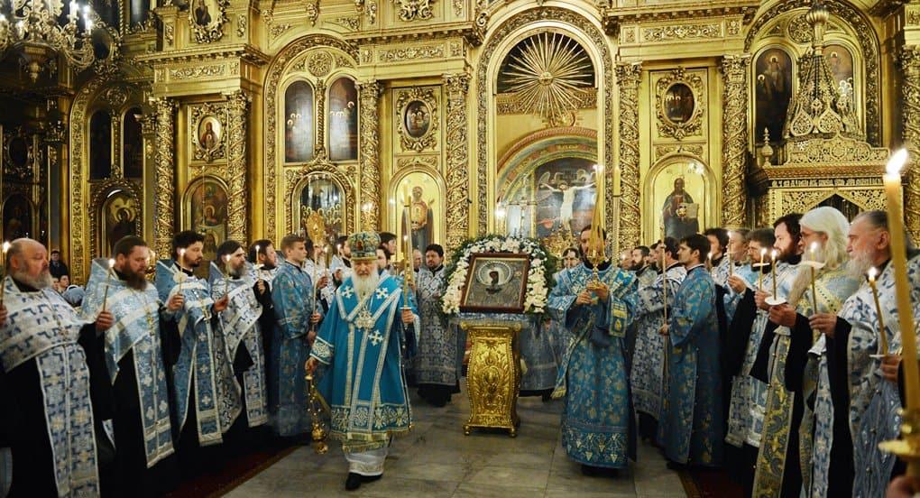 В субботу 24 марта Церковь совершит Похвалу Пресвятой Богородицы