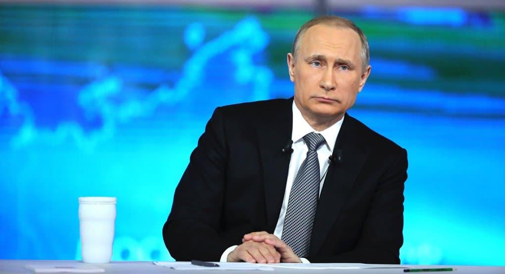 Владимир Путин отметил вклад Русской Церкви в консолидацию общества