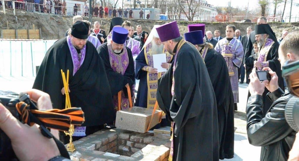 В Волгограде начали восстанавливать собор, разрушенный большевиками