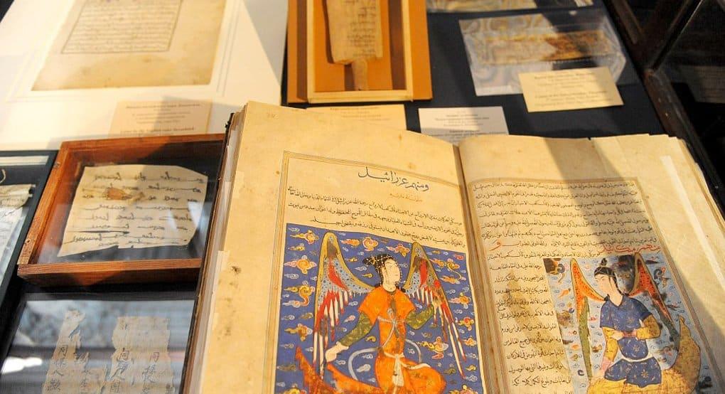 Уникальные христианские манускрипты показали в Петербурге