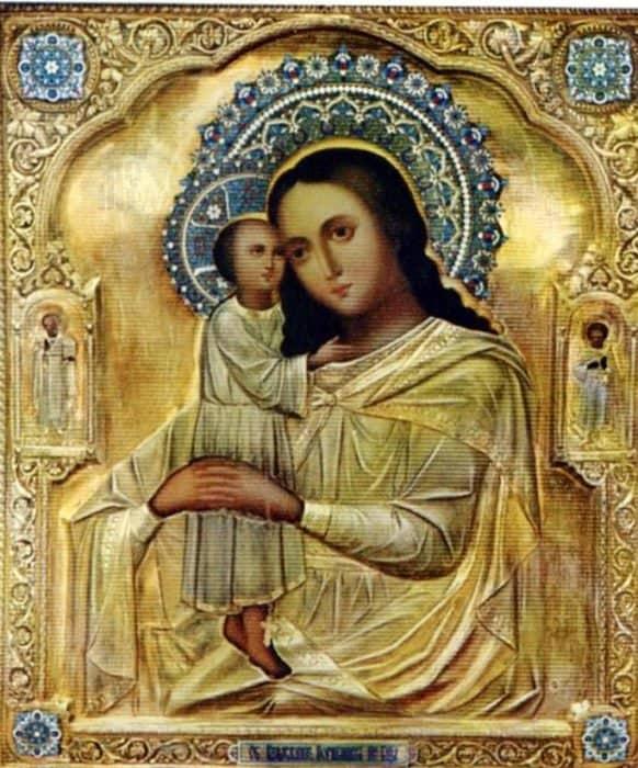 Икона Божией Матери «Взыскание погибших», написанная по просьбе блаженной Матроны