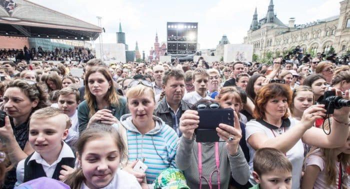 День славянской письменности отметили концертом на Красной площади