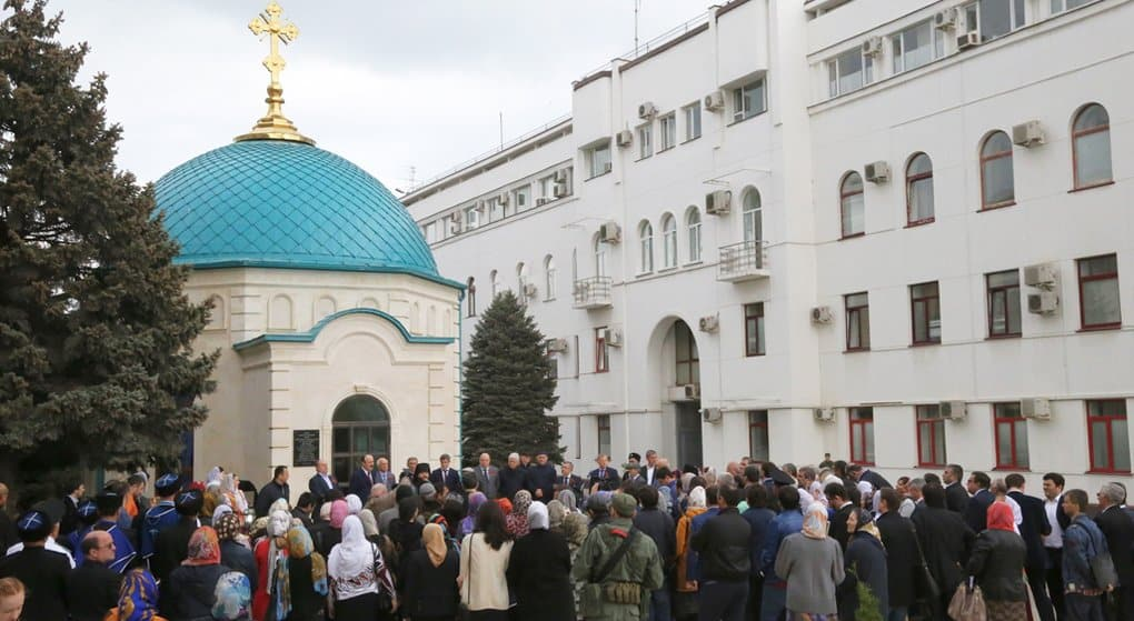 Храм в честь святого князя Владимира открыли в центре Махачкалы
