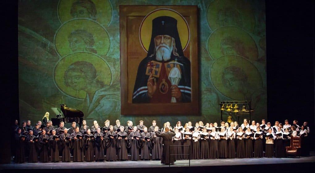 В Мариинке дали спектакль-концерт в честь сразу трех святых Серафимов