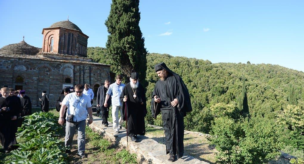 «Культура» покажет 21 мая 2016 года фильм о визите патриарха Кирилла на Афон