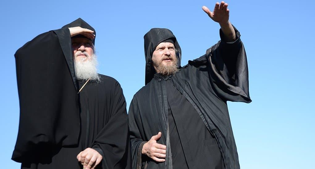 Патриарх Кирилл прибыл на Афон