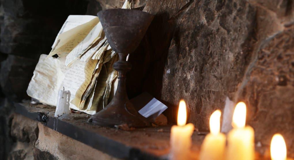 Рукописное Евангелие XIX века нашли в иракском Мосуле