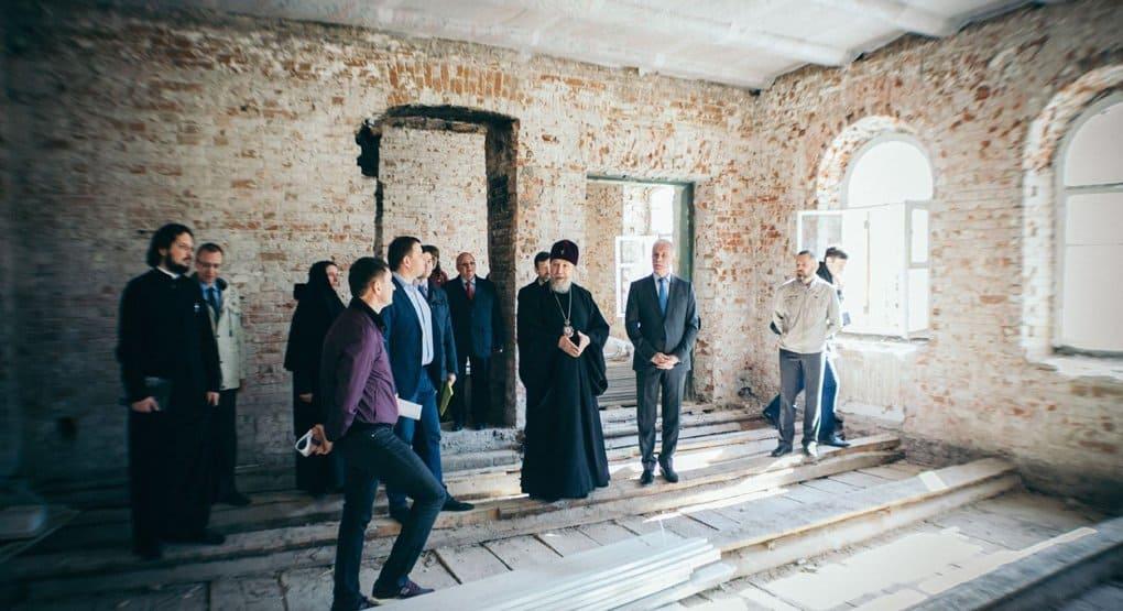 В Ульяновске восстановят разрушенный в советское время Спасский монастырь