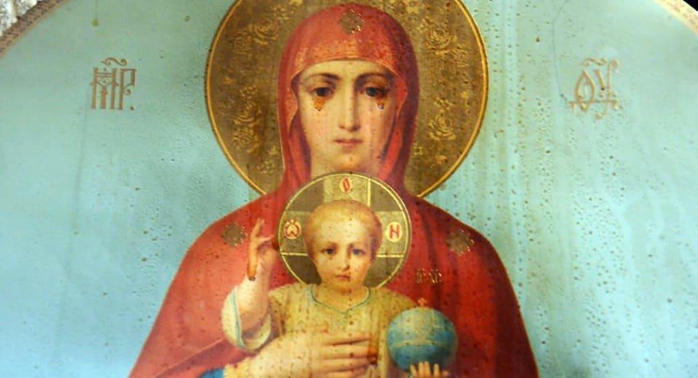 При пожаре на Валааме уцелела бумажная копия Валаамской иконы Божией Матери