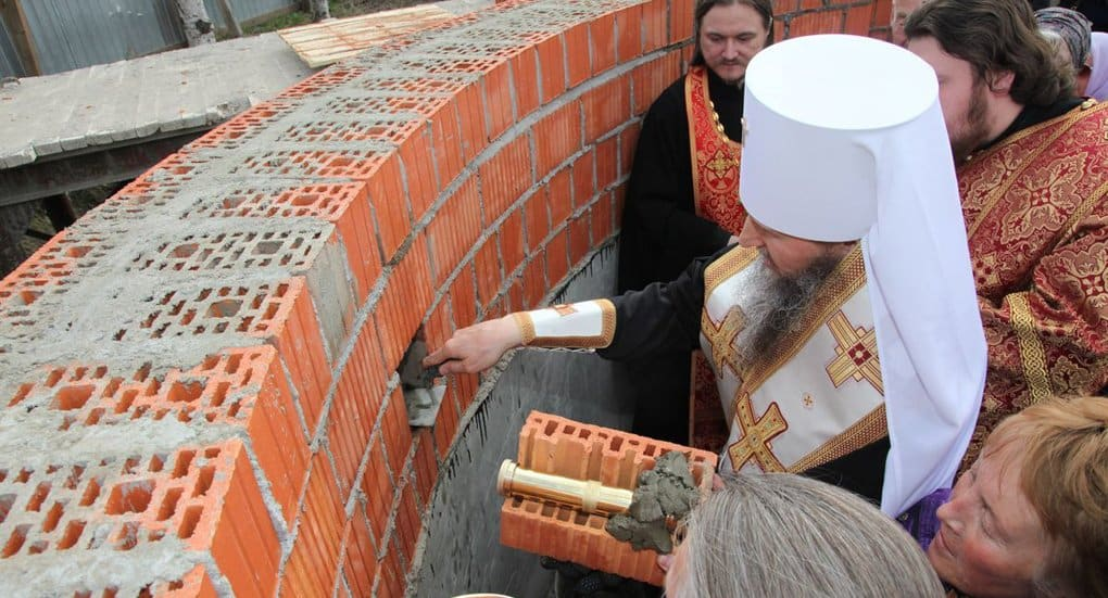 В Архангельске начали восстанавливать собор, взорванный в 1930-ых годах