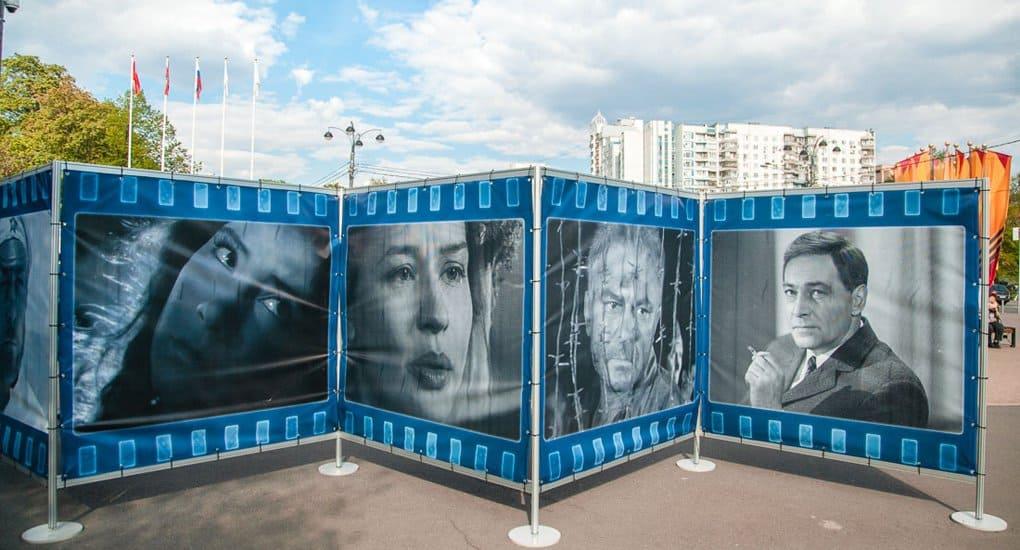 В «Сокольниках» с помощью фильмов и фото рассказывают о героях Великой Отечественной