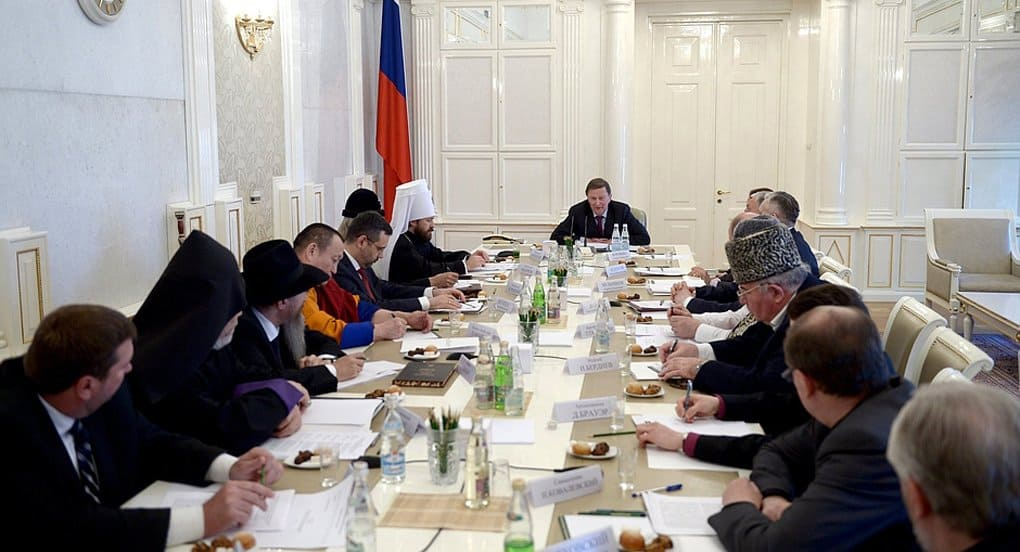 Представители Русской Церкви выступили на заседании Совета по взаимодействию с религиозными объединениями