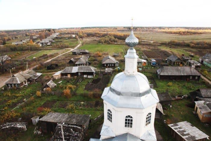 Село Брейтово, Ярославская область. Фото Владимира Ештокина