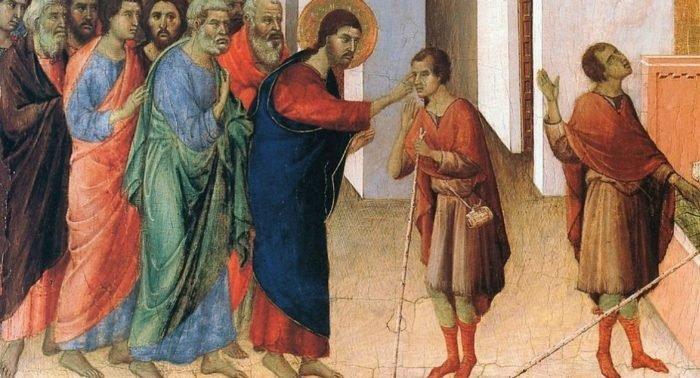 Неделя шестая после Пасхи. О слепом, 1 – 6 июня. Чудо в субботу