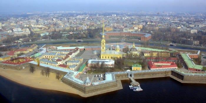 Петропавловская крепость, Санкт-Петербург. Фото священника Максима Массалитина