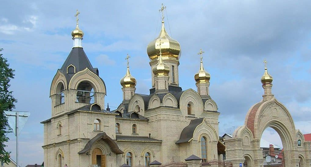 Храм во имя прп. Серафима Саровского в Оренбургской области