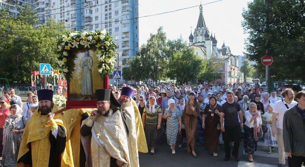 Икону святого Алексия, человека Божия, спустя больше полтора века вернули в родной монастырь
