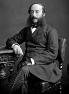 circa 1865: German journalist and founder of the first news agency Paul Julius Reuter (1816 - 1899). (Photo by London Stereoscopic Company/Getty Images)
