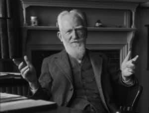 1930 --- Irish Playwright George Bernard Shaw --- Image by © E.O. Hoppé/Corbis