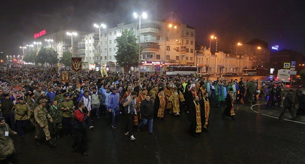 В память о царской семье в Екатеринбурге ночью пройдут крестным ходом