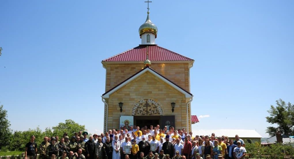 Наркозависимые построили храм на Ставрополье