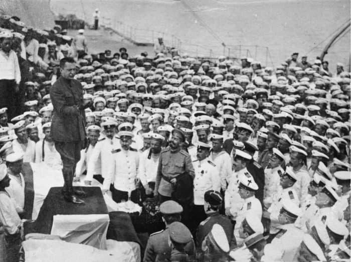 Керенский в Севастополе. Май 1917