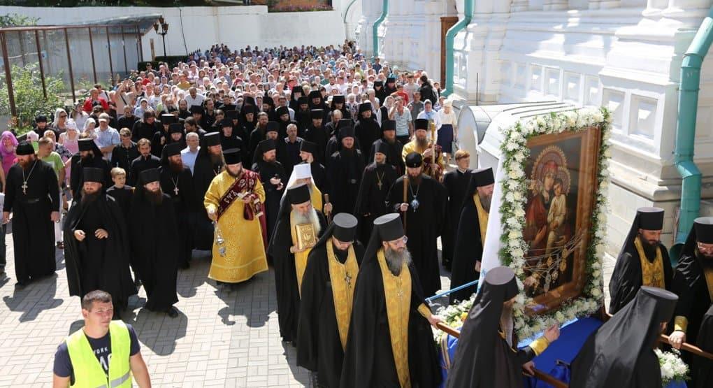 Всеукраинский крестный ход начался от Святогорской лавры