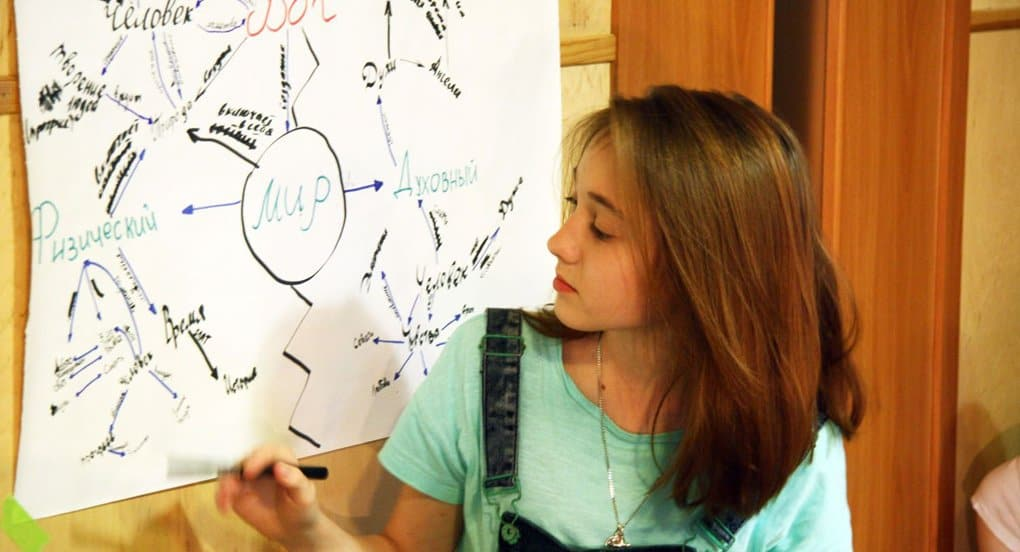Московским школьникам рассказали о месте человека в мироздании