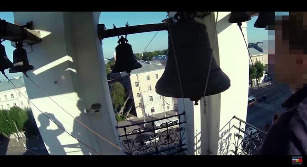 Тверской храм пригласил на экскурсию руферов, залезших на его колокольню