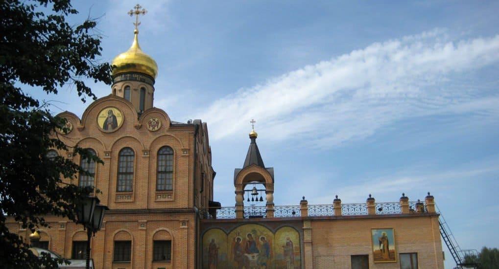 Храм преподобного Серафима Саровского в Софрино