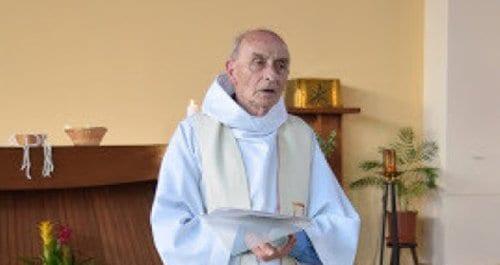 Убитый во Франции священник Жак Амель/Фото http://huffingtonpost.it