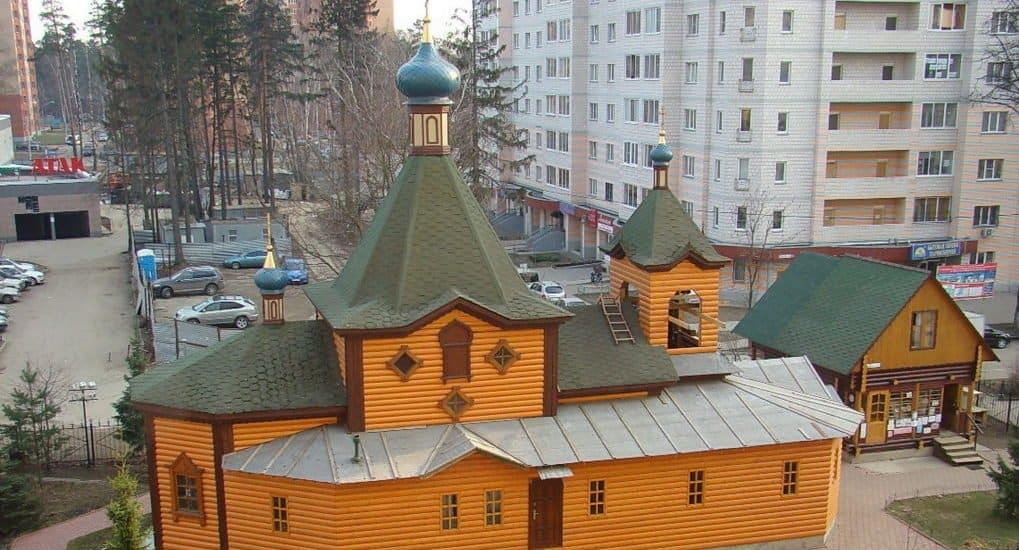 Серафимовский храм в городе Юбилейном
